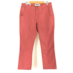 Mountain Khakis Mens Poplin Pant Relaxed Fit Rojo